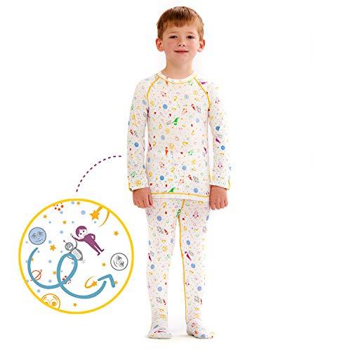 Eczema Pajamas Set for Kids - Eczema Wet Wrap Clothes for Itch Relief (6)