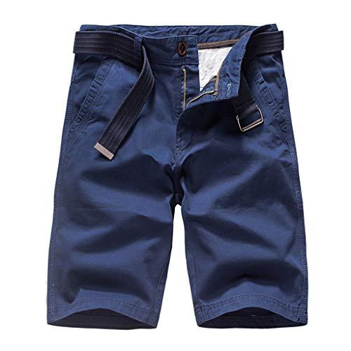 Shorts Playa Hombre Verano Outdoors Flojo Ocasional Color Puro Pantalones Cortos AlgodónMono Pantalones Gran Precio Cortar
