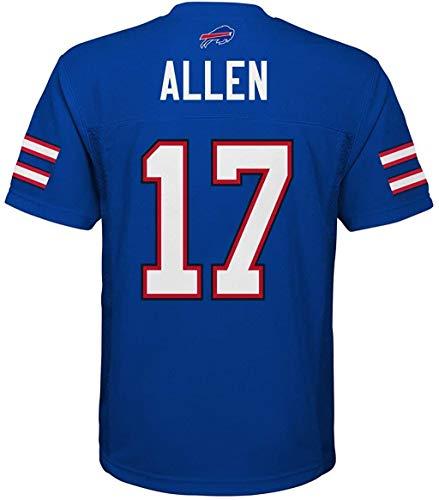 Josh Allen Buffalo Bills Blue #17 Youth Home Mid Tier Jersey (Medium 10/12)