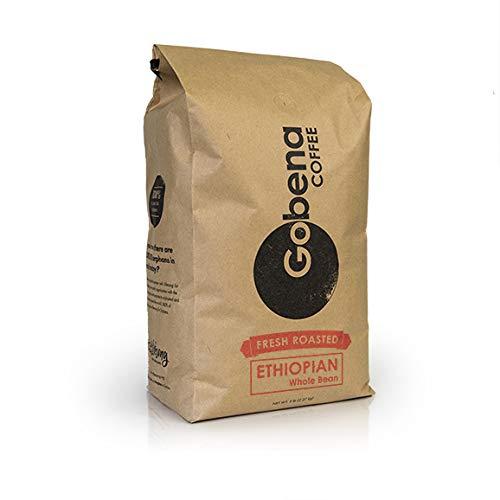 5lb Ethiopian Yirgacheffe Whole Bean, Light Roast, 100% Arabica Coffee, 80 ounces, 5 pounds