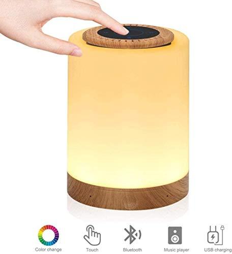 Wekker met wekker, 7 kleuren Nachtlampje en wekkerlicht Wekker voor kinderen Kinderen Sleep Trainer Timer voor slaap Tafellamp voor kinderen