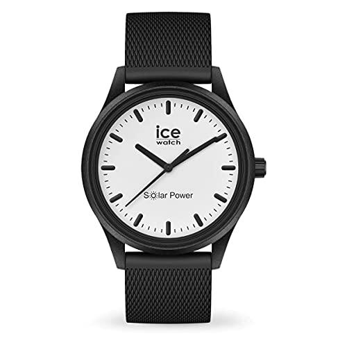 正規代理店 [Ice-watch]アイスウォッチ 時計 腕時計 太陽電池 メンズ レディース / 018391 ムーン (メッシュ) ミディアム ICE solar power アイス ソーラー パワー