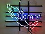 Corona Real Neon Sign Wall Light for Beer Bar Home Room Bedroom Cool Art Decor Handmade Neon Lamps 19'x15'