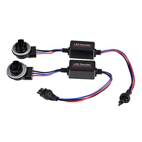 Decoder Warning Canceller, 1Pair 3157 LED Dispositif de décodage des phares Dispositif anti-scintillement Aucune résistance Résistance du décodeur LED anti-scintillement