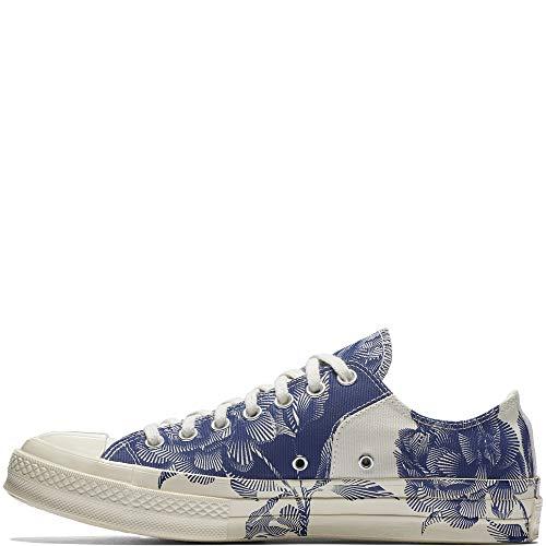 Converse Taylor Chuck 70 Block Ox, Zapatillas Unisex Adulto, Azul (Navy/Egret/Egret 426), 44.5 EU