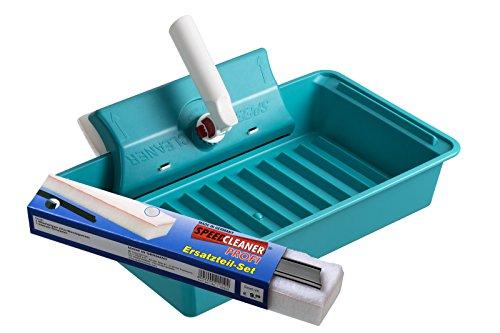 Speed-Cleaner® 3 in 1 Fensterwischer (Modell Profi, 25 cm Breite) mit der 3 in 1 Technologie reinigen - trocknen - polieren in einem Arbeitsgang