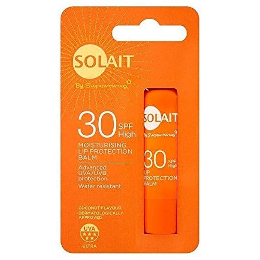 こする無秩序フォーカス[Solait] SolaitリッププロテクタースティックSpf30の4,8G - Solait Lip Protector Stick SPF30 4,8g [並行輸入品]