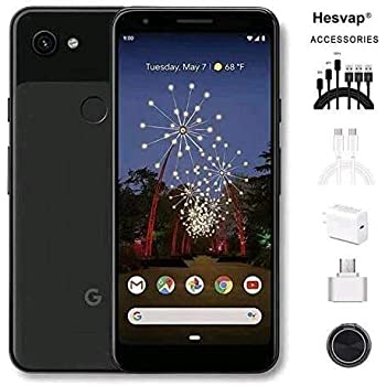 "Newest Google Pixel 3a XL 5.9"" 64GB Memory Cell Phone Unlocked Android Smartphone, AT&T/T-Mobile/Verizon W/Valued 69.99 Mobile Phone 7in1 Accessories (Pixel 3a XL 