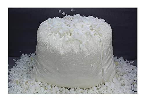 Acomoda Textil - Picado de Espuma para Relleno, Copos de Espuma para Sillón, Sofá, Puff, Peluches. (100 litros)