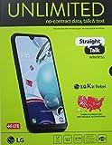 Straight Talk LG K31 Rebel, 32GB, Black - Prepaid Smartphone