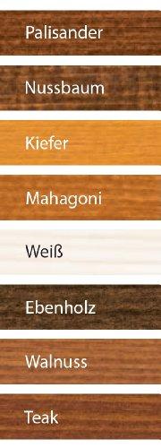 ALPINA Premium Lasur, 2,5 L. Holz Dickschichtlasur außen, Teak