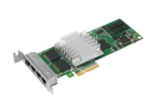 Intel Pro/1000 PT Quad Port LP Server Adapter - Adaptador De Red - Pci Express X4 Perfil Bajo - Ethernet, Fast Ethernet, Gigabit Ethernet - 10Base-T, 100Base-Tx, 1000Base-T - 4 Puertos