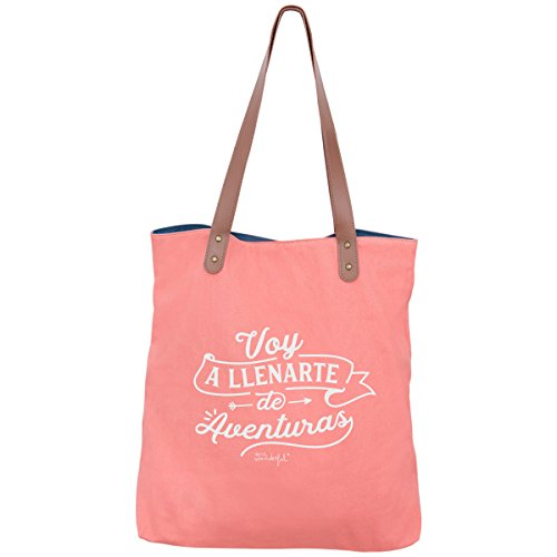 Mr. Wonderful Voy A Llenarte De Aventuras Bolsa de Tela y de