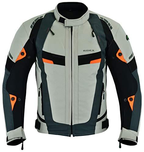 RIDEX Chaqueta textil protectora para motocicleta CJ227 para hombre