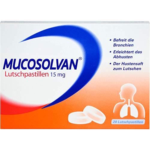 Mucosolvan 15 mg Lutschpastillen, 20 St. Tabletten
