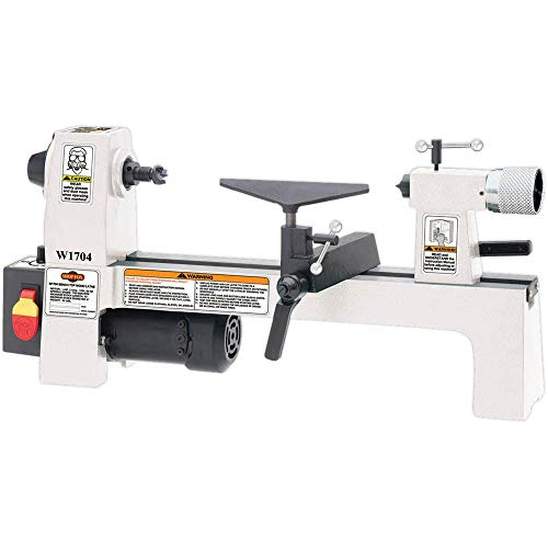 New SHOP FOX W1704 1/3-Horsepower Benchtop Lathe