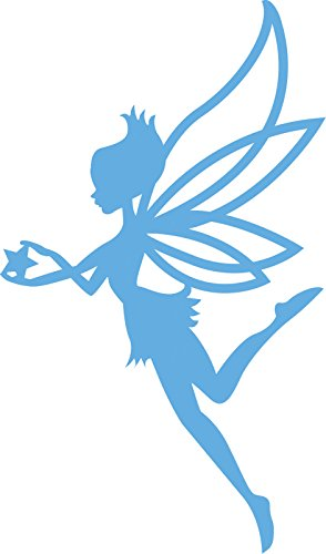 Marianne Design Creatables Elfe mit Stern-Stanzschablone und Prägeschablone für die Kartengestaltung und Scrapbooking, Metal, blau, 16.6 x 10.1 x 0.2 cm