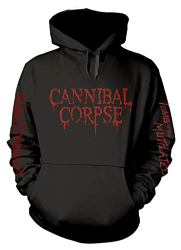 Cannibal Corpse 'Tomb of The Mutilated Explicit' (Negro) Sudadera con Capucha