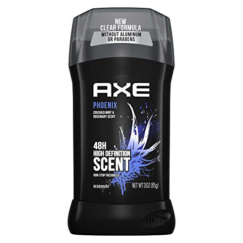AXE Dual Action Deodorant Stick for Long Lasting Odor Protection Phoenix Crushed Mint & Rosemary Mens Formulated Without Aluminum 3 oz