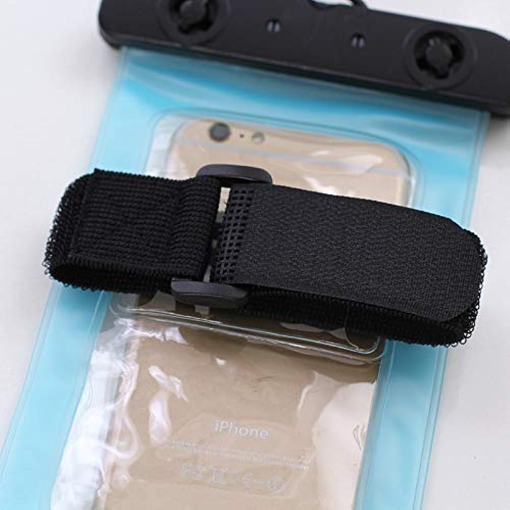 情熱落ち込んでいる世界的にGUANG-HOME 携帯電話防水防水電話ケース105X190MM付きダイビングツアー必須防水電話バッグアーム (Color : Blue)
