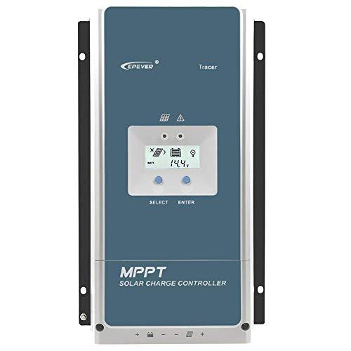 MPPT 20A 30A 40A 60A Régulateur de charge solaire 12 V 24 V 36 V 48 V DC avec écran LCD Rétroviseur de charge solaire 50 A 60 A 80 A 100 A, 10420AN.