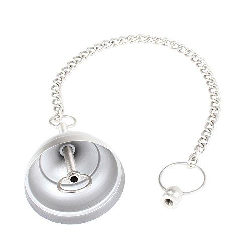 Albena shop 71-5000 baldakijn met ketting voor oosterse hanglampen klassiek 60 cm zilver