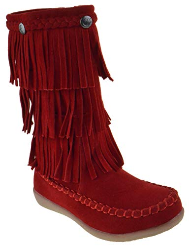 Child Girl Red Boots