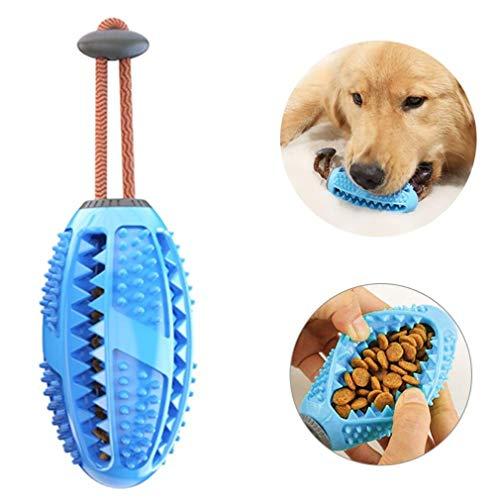 BTkviseQat Hund Zahnbürsten Stick, Hundespielzeug Zahnbürstenstab für Hunde, Zahnpflege, Bürsten, Kauspielzeug, effektives Massagegerät, ungiftig, Naturkautschuk, beißfest