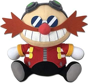 Great Eastern Entertainment Sonic Hedgehog- Sd Dr Eggman Sitting Plush 7  H