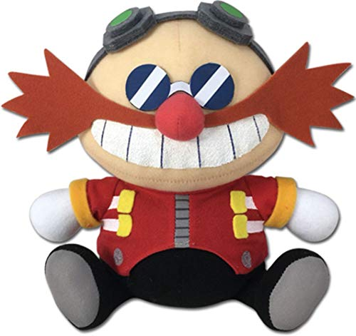 Great Eastern Entertainment Sonic Hedgehog- Sd Dr. Eggman Sitting Plush 7' H