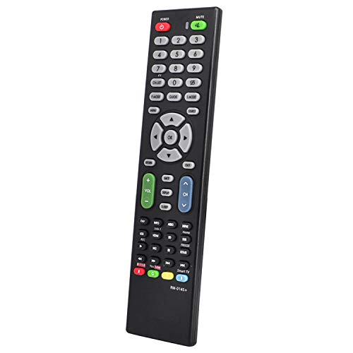 New Universal TV Remote Replacement for LG, Sony, Samsung, Sharp, Panasonic, Toshiba, Philips, Haier, Hitachi, Sanyo, TCL, KONKA, AOC, and More Other Brands - with Netflix Buttons - Easy Setup