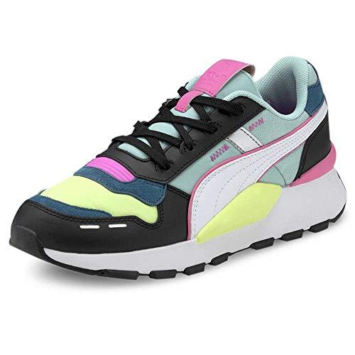 Puma Unisex-Erwachsene Rs 2.0 Futura Sneaker, Schwarz-Aruba Blau, 40 EU