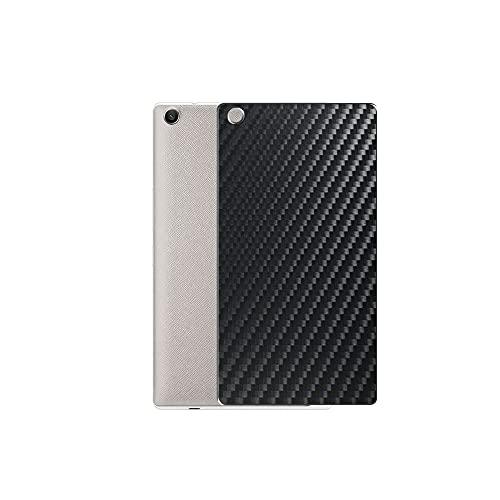 VacFun 2 Piezas Protector de pantalla Posterior, compatible con ASUS ZenPad 7.0 Z370C Z370KL 7', Película de Trasera de Fibra de carbono negra Skin Piel