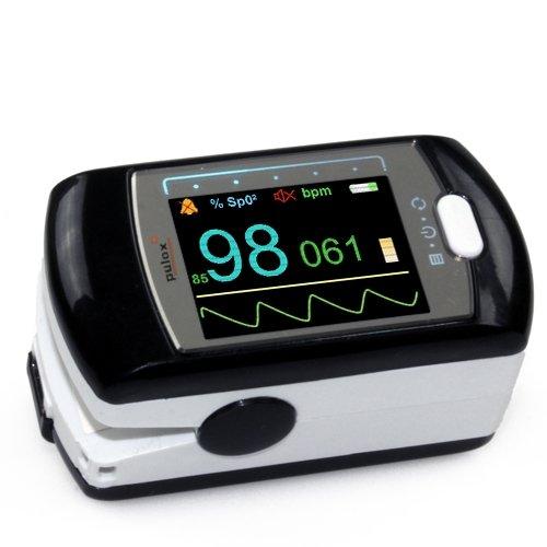 Pulsoximeter Finger-Pulsoximeter PULOX PO-300 inkl. Zubehör Set