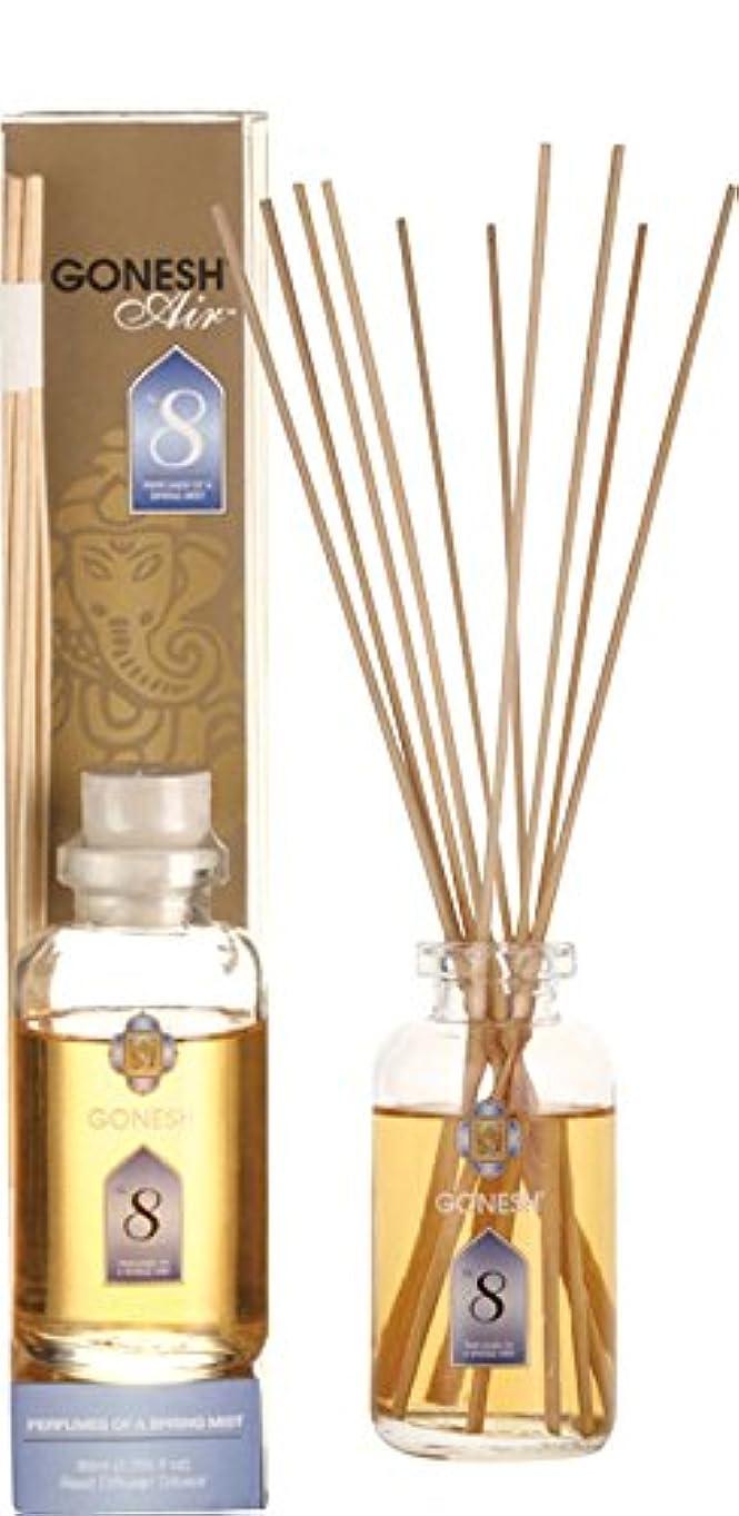 無代表する記念碑的なGONESH ガーネッシュ リードディフューザー NO.8 ルームフレグランス 芳香剤 アロマ インセンス 癒し 香り