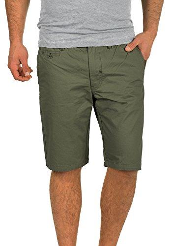 Blend Sasuke Chino Shorts Bermuda Kurze Hose Aus 100{617c2043d410802eba9392b5afc4339f72b6677ecce9f1dd71c62ff9330b105b} Baumwolle Regular Fit, Größe:L, Farbe:Dusty Green (70595)