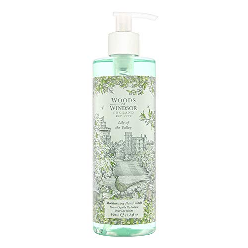 Woods of Windsor Lily of the Valley Moisturising Hand Wash 350 ml, 1er Pack (1 x 350 ml)