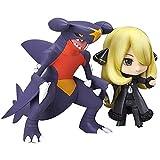 Pokémon Anime Action Figure Cynthia Garchomp Nendoroid PVC Figures Collectible Model Character Statue Toys Desktop Ornaments