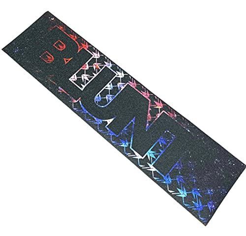 Blunt - Cinta de agarre antideslizante para patinete de acrobacias para niños, con logotipo de Fantic26, color rojo, azul y blanco