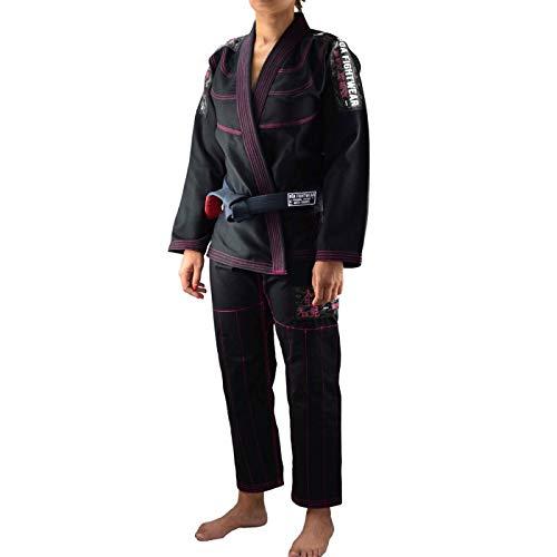 Bõa BJJ Gi Kimono Mujer Treinado 3.0 - Negro, F4