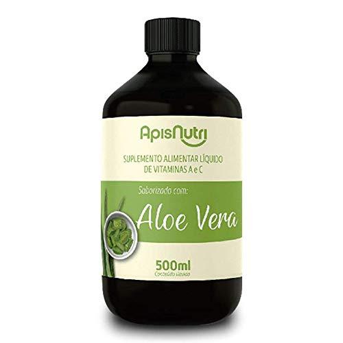 Aloe Vera Babosa Suplemento Líq. 500ml Apisnutri