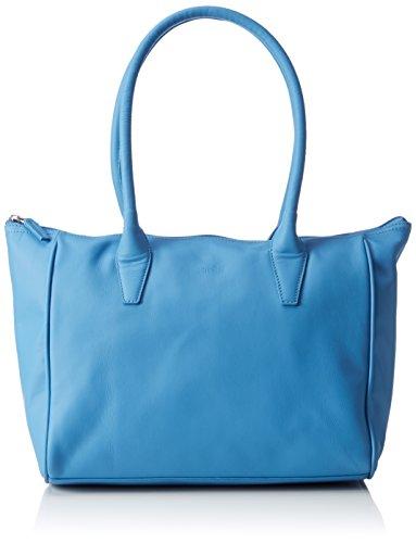 BREE Damen Sylvie 1 Schultertaschen, Blau (riviera 230), 42x14x26 cm