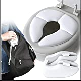 ZTH 5 PCS Peau Douce-Friendly Enfants Pliant Potty Seat Cover bébé Voyage Pliant rembourré Toilettes Toilettes Siège de Formation