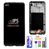 A-MIND LCD Replacemen Screen for LG V20 H918 LS997 US996 VS995 H990TR H910 H990ds H990 H915 F800L F800S F800K Full LCD Replacement Display Touch Screen Digitizer + Frame (Black)