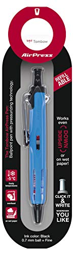 Tombow BC-AP52-B Kugelschreiber AirPress Pen mit Drucklufttechnik Hellblau