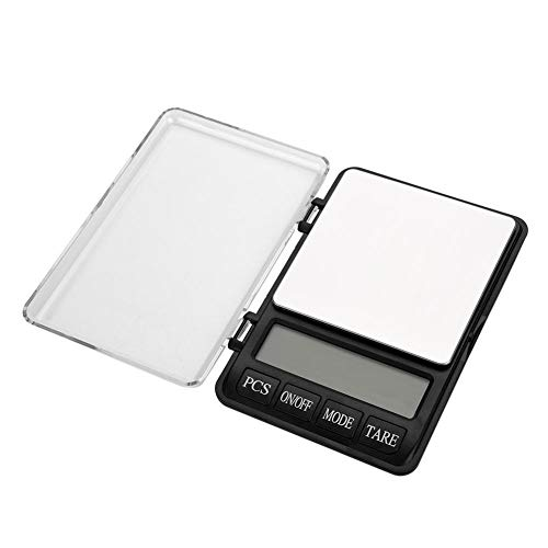 Outbit digitale weegschaal, 1 PC met 3000 g/0,1 g LCD-display, elektronische digitale weegschaal, zaksieraden, levensmiddelgeneeskunde wegen gereedschap