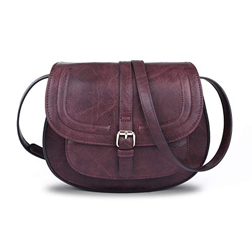 Crossbody Bags for Women,Small Saddle Purse and Satchel Handbags,Size/L 11