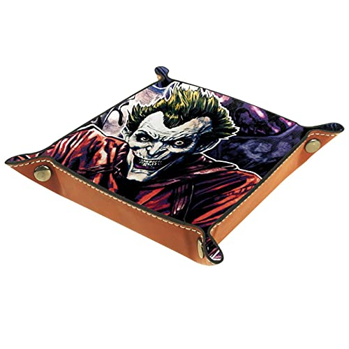 Joker Horror para carteras, relojes, llaves, monedas, teléfonos celulares y caja de almacenamiento de equipo de oficina