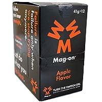 Mag-on マグオン アップル1箱(12個入り)【sotoasoオリジナルセット 登山 マラソン ランニング トレイルランニング トライアスロン 行動食 補給食】