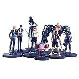KVSW Juguetes temáticos de Cine y televisión de Anime, Sombreros de Paja, Modelos de Personajes de Anime en Caja Hechos a Mano